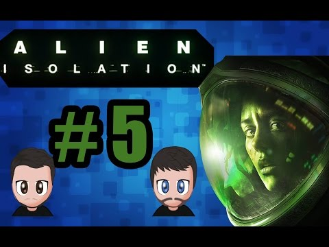 Aliens Isolation | Part 5 | HE BACK! | 2 Player Network