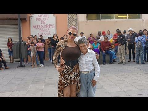 Los Mejores Bailadores En La Plaza Con Musical Milagro Youtube