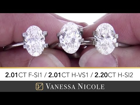 2 CARAT OVAL CUT DIAMONDS | Which Would YOU Choose? | Oval Shape Size Comparison