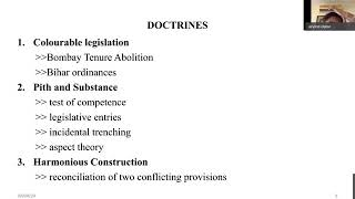 Interpreting the Constitution :Theories Doctrines and Controversies   Arvind Datar