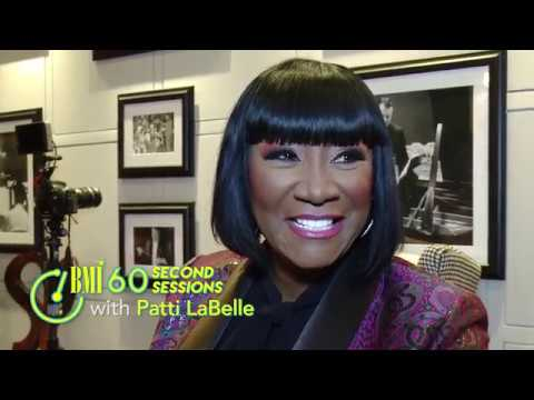 Patti LaBelle Talks Firsts, Favorites & Fabulousness | 60 Second Sessions