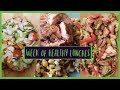EATING SALAD FOR A WEEK | Holly Maddison