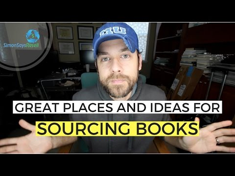 Great Places for Sourcing Books to Sell on Amazon FBA and Make Money Online