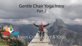 Janet Crawley: Gentle Chair Yoga, Part 2