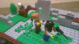 Лего самоделка по теме вторая мировая война