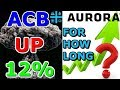 Aurora Cannabis (ACB) Up 12% How Long Will This Last ? - 2018 Stocks Predictions -Departures Capital