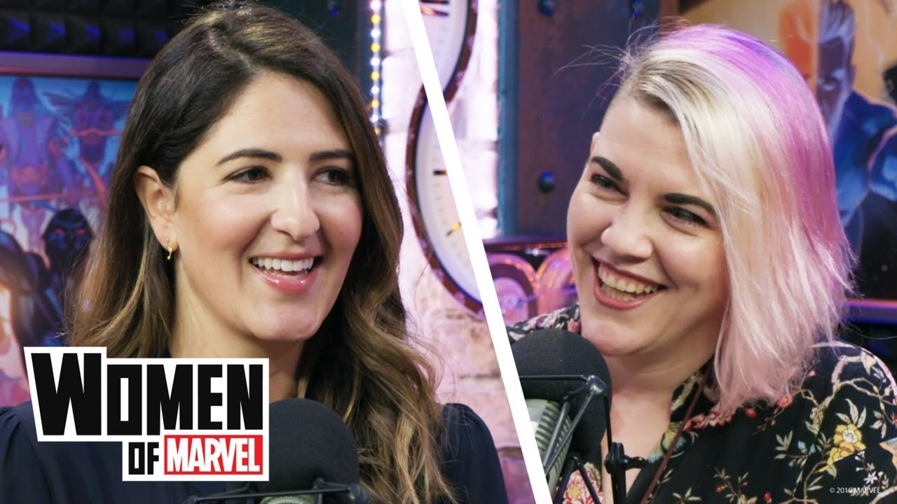 Download D'Arcy Carden Talks 'The Good Place' and Improv Comedy | Women of Marvel