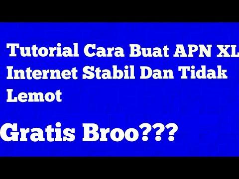 Tutorial Setting APN XL Agar Internet Stabil dan Tidak Lemot!