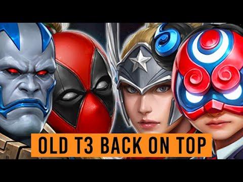 Deadpool & Sharon Storm The Meta! All T3 Ranked - Marvel Future Fight