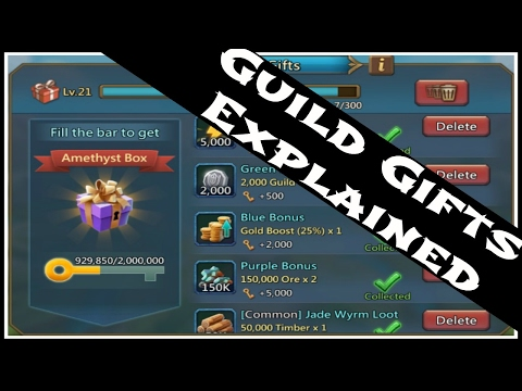 Lords Mobile: Guild Gifts Explained | Why Level Doesn't Really Matter!