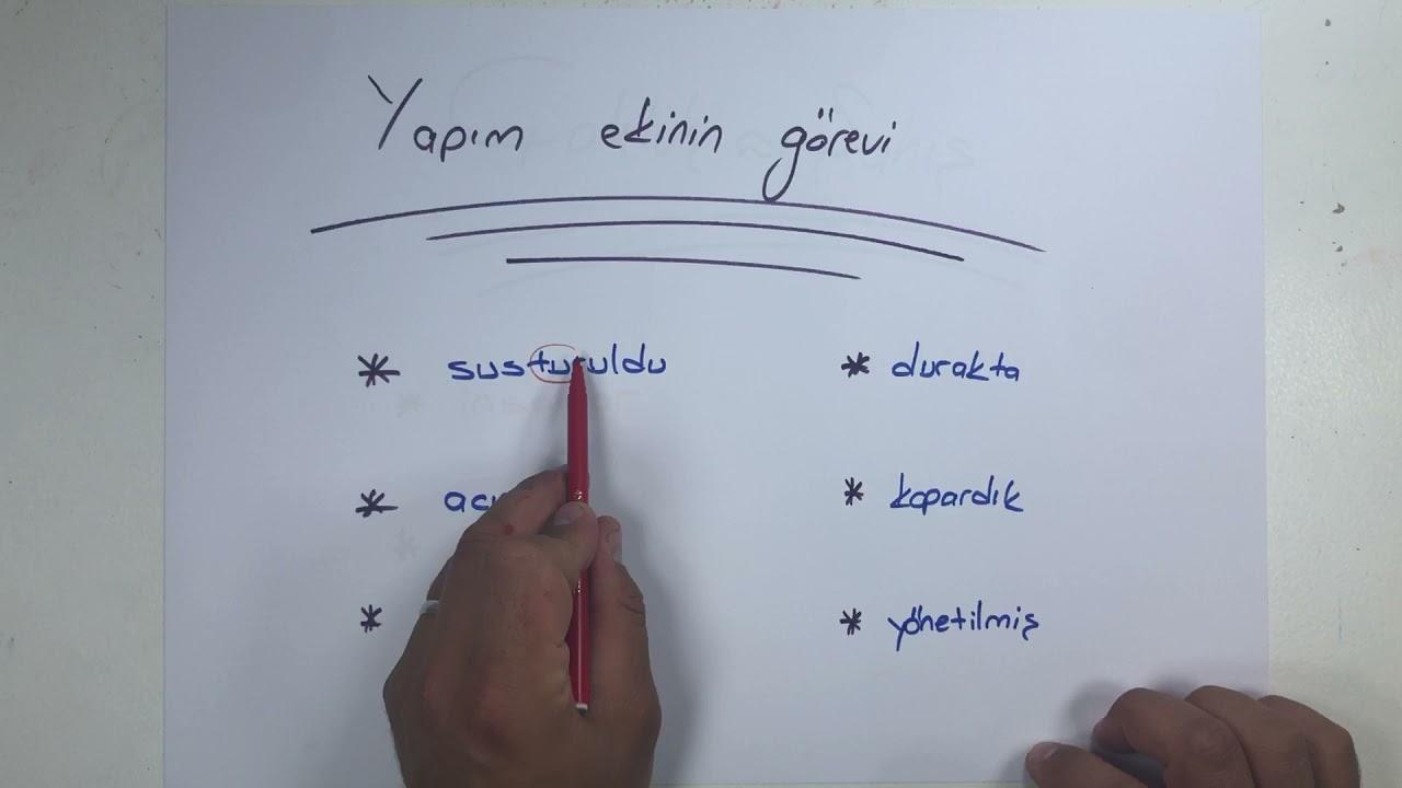 Sözcükte Yapı / Nokta Atış / Rüştü Hoca