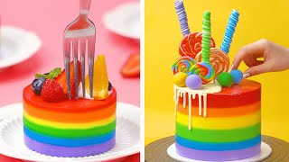 So Yummy Colorful Cake Decorating Recipes  Awesome Chocolate Cake Decorating Ideas by Tasty