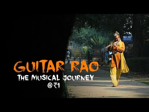 Guitar Rao - Meet the music teacher who gives lessons at Re 1/day in Delhi