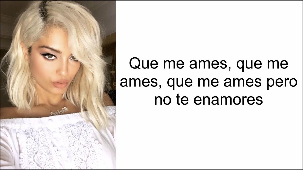 Bebe Rexha - (Not) The One (Letra en español)