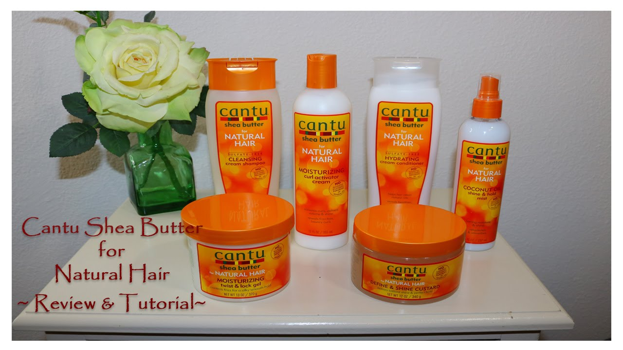 Cantu Shea Butter Leave In Natural Hair Review