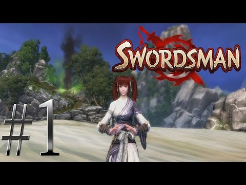 Swordsman Gameplay #1 - Lone Sword Village (Zephyr Level 1-8)(60 FPS)