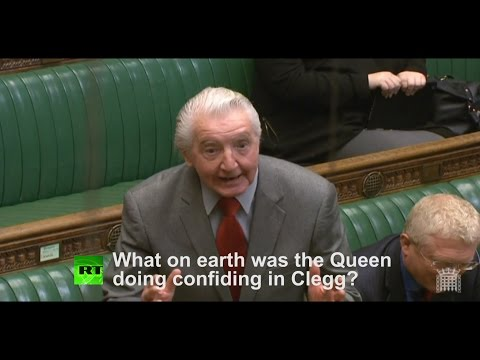 Dennis Skinner: Why would Queen confide in Clegg over EU?