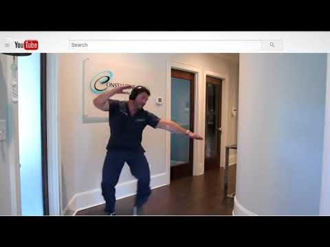 Viral Dancing Dentist Takes On Level Up Dance Challenge