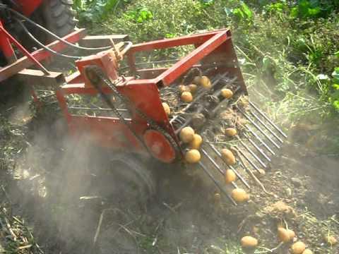 Hızlı ve Kolay Patates Hasat Makinesi