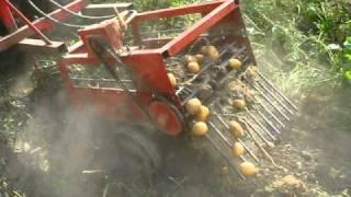 Vyorávač brambor jednořádkový - domádo konstrukce sedlec