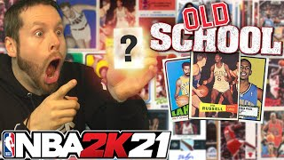 Old School Basketball Pack Opening. NBA 2K21