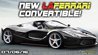 Laferrari Convertible, Aston Martin Red Bull Hypercar, Rolls-Royce Phantom Teaser - Fast Lane Daily