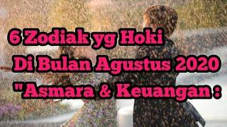 6 Zodiak yg Hoki Di Bulan Agustus Asmara & Keuangan
