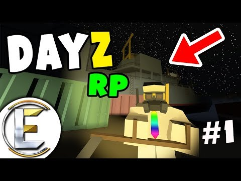 Post-Apocalyptic - Unturned Dayz RP Survival EP 1 (A New World and Abandoned Battleship)