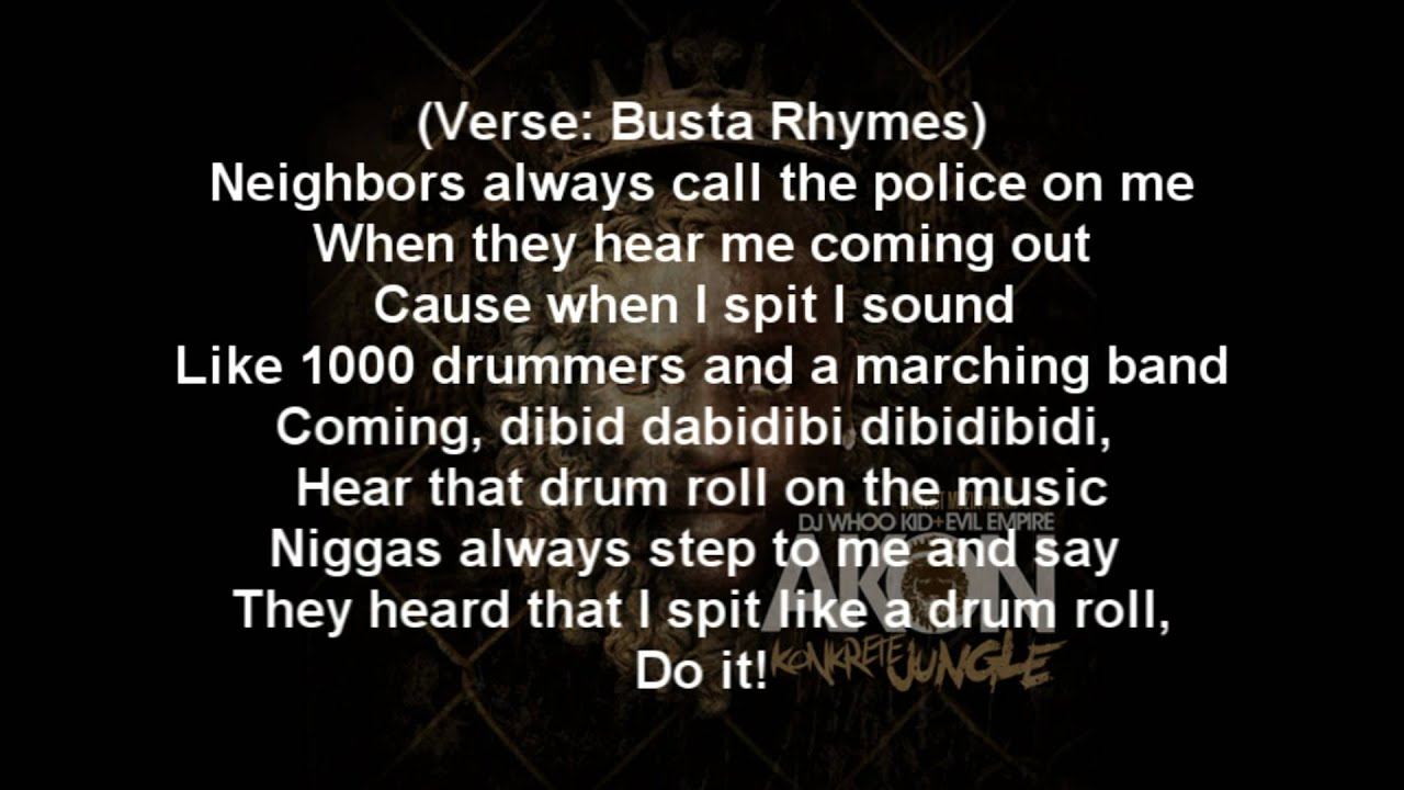 Make It Hurt Lyrics by Busta Rhymes - Lyrics Depot