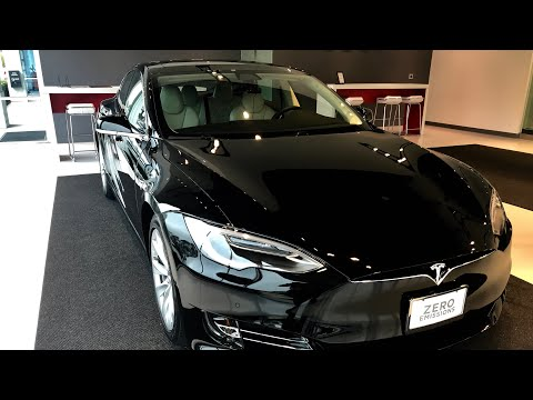 Tesla Model S Delivery. First time walk through