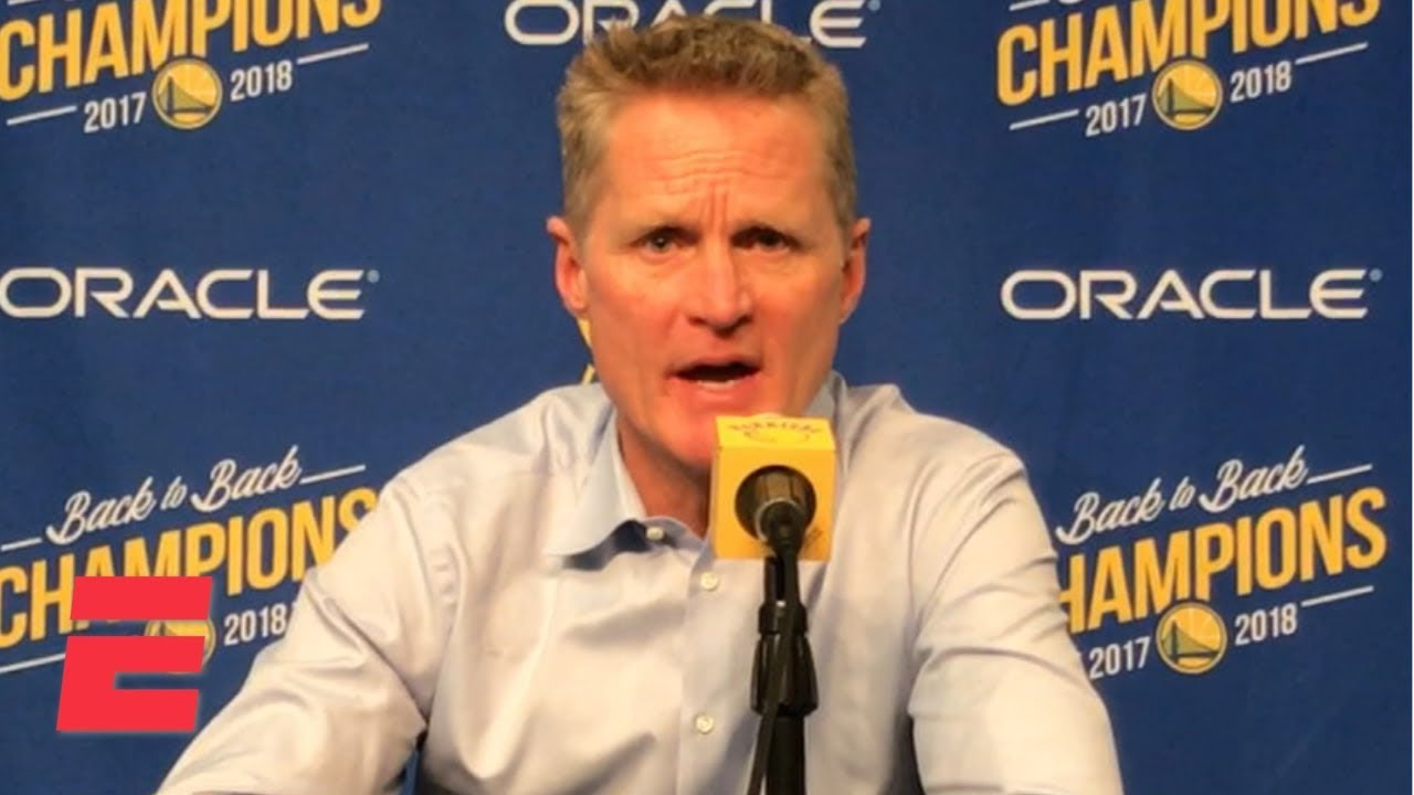 Steve Kerr: Stephen Curry's Ankle Injury Is 'Fine'; Warriors Not Concerned
