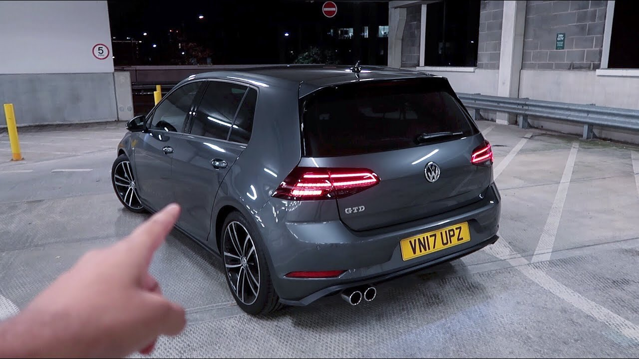 is this vw golf gtd facelift mk7 5 a hot hatch youtube. Black Bedroom Furniture Sets. Home Design Ideas