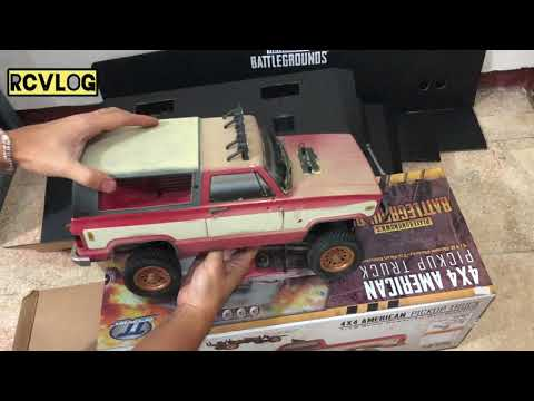 Download Rcvlog , Unboxing Thunder Tiger PUBG edition 1:12 scale crawler