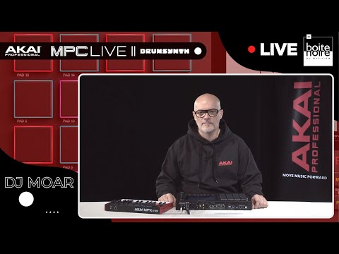 [REPLAY LIVE] le Plugin DRUMSYNTH sur AKAI MPC LIVE II