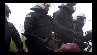 Polizeigewalt im Hambacher Forst