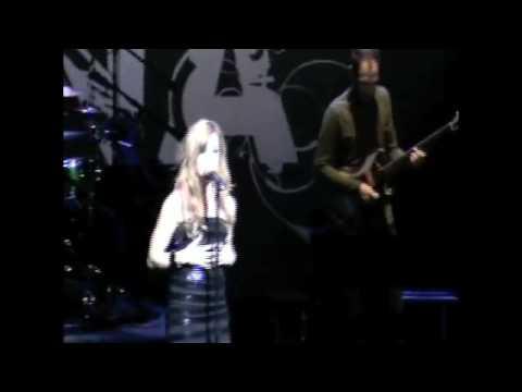 Joanna Pacitti singing We Belong, True Colors, and ALONE