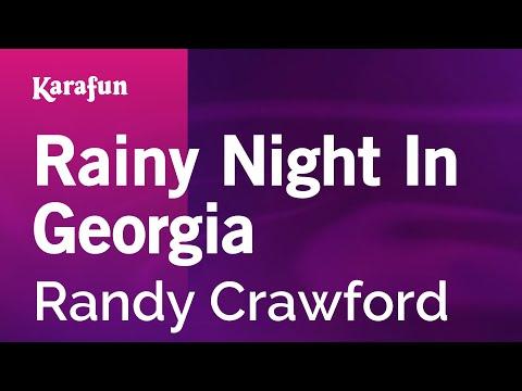 Karaoke Rainy Night In Georgia - Randy Crawford *