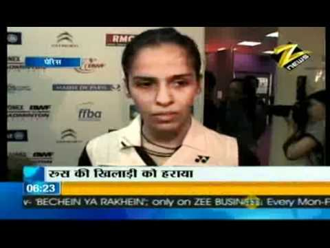 Bulletin # 1 - Super Saina storms into World Badminton C'ship QFs Aug. 27 '10
