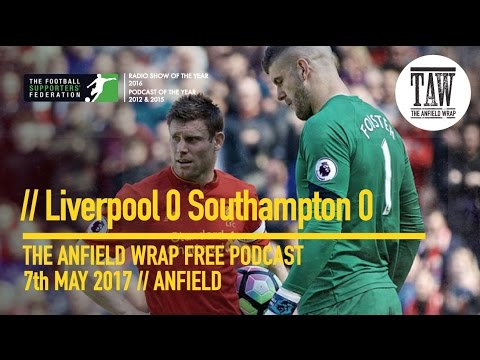 Free Podcast - Liverpool 0 Southhampton 0: Liverpool Draw Another Blank