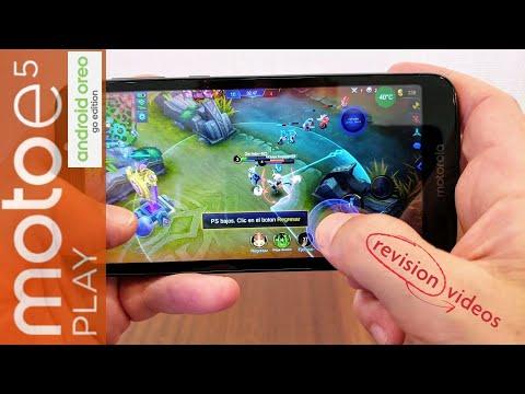 Análisis (Review en Español) Motorola Moto E5 Play, Edición GO