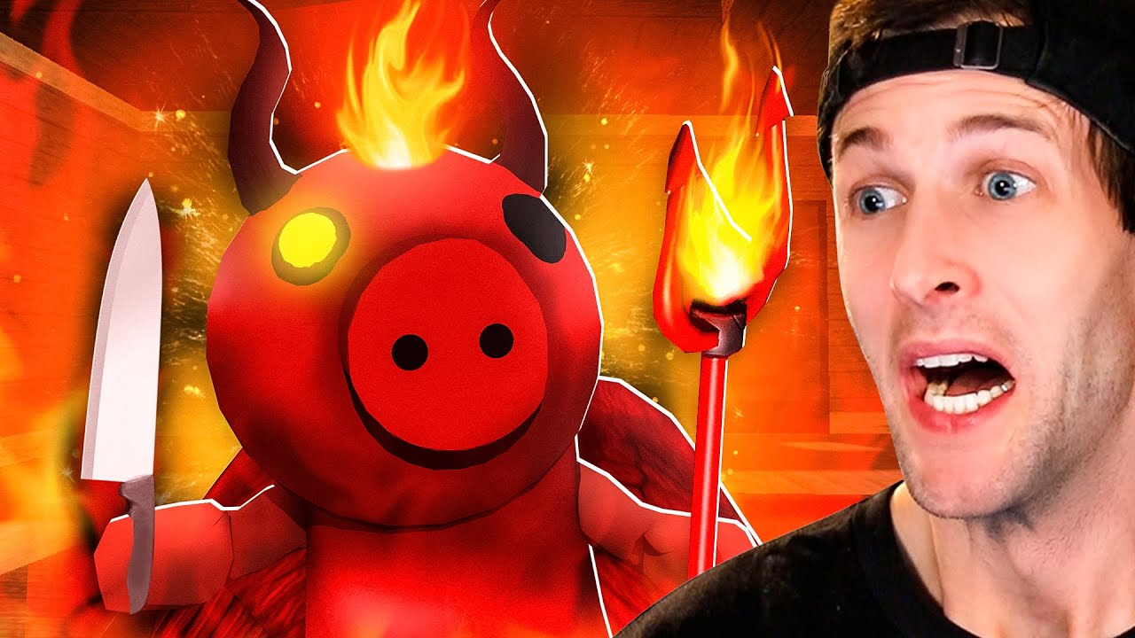 Playing The *NEW* PIGGY HUNT GAME! (Piggy Hunt)