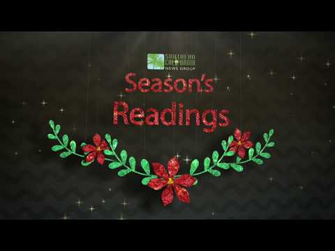 Holiday greetings from SCNG