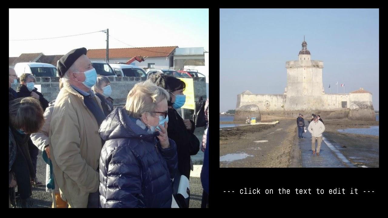 Séjour à La Rochelle, 15 au 18 Oct.