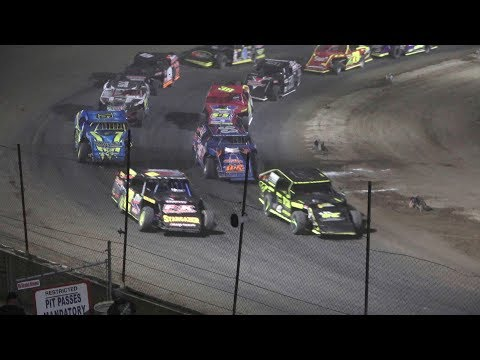 A Feature 1 (20 Laps): 93-Brady Hollenbeck, 79-Nate Jones, 20W-AJ Ward, 2A-Chance Allen, 38-Mitchell Hunt, 71-Brenten Deyoung, 19JR-Kody Johnson, ... - dirt track racing video image