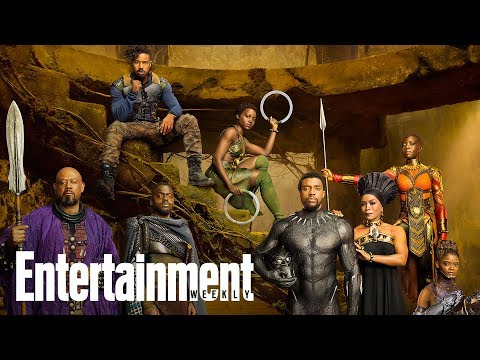 'Black Panther' Preview: A Look Inside EW's Comic-Con Issue | Cover Shoot | Entertainment Weekly