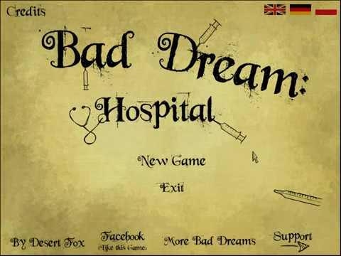 "Bad Dream: Hospital   "" милая "" раскраска  "