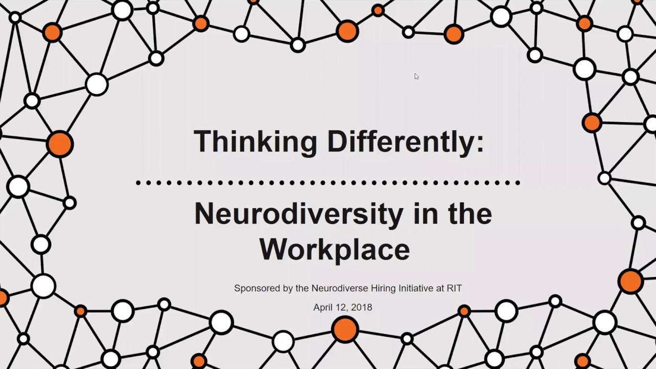 Thinking About Autism And Neurodiversity >> Thinking Differently Neurodiversity In The Workplace Youtube