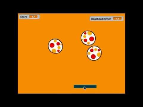 Simple game created in Scratch programming language