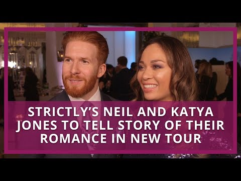 Strictly's Neil and Katya Jones to tell story of their romance in new tour