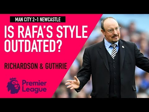 Comparing Rafa's management style to Pep | Man City 2-1 Newcastle | Astro SuperSport